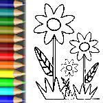 Viele Blumenbilder und Malvorlagen von der Blumenwiese: http://babyduda.com/bunte-blumenwiese-2/