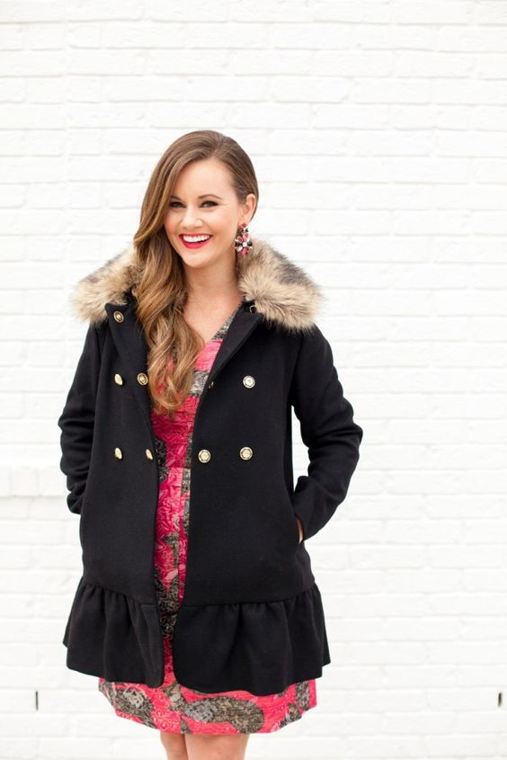 Exterior: Two Ways To Wear Our Belle Coat