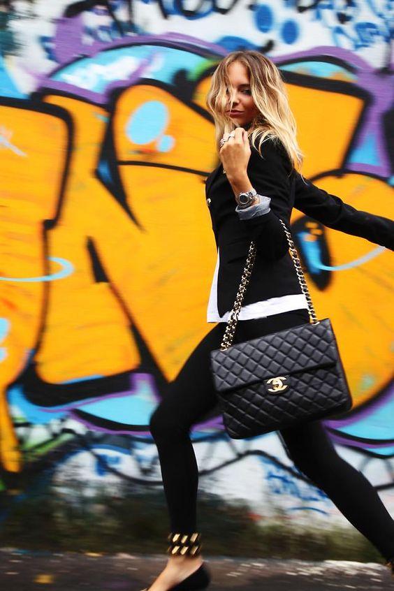 blazer, jeans, pumps, purse....perfection