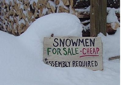 This southern gal has such SNOW ENVY!! Gotta be the cutest sign I've seen in a long time.