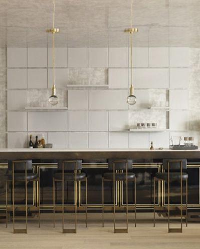 | P | |Singapore Penthouse Kitchen