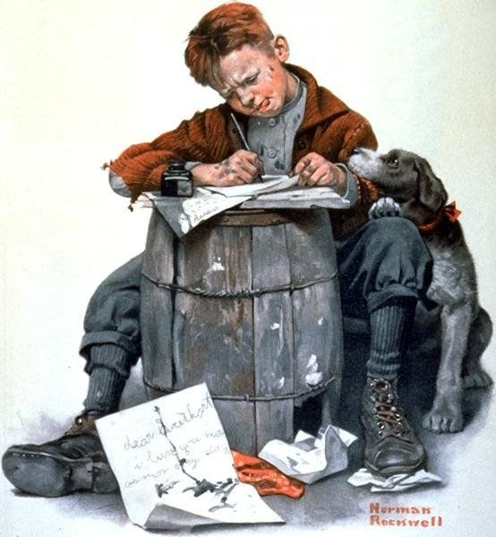 Have a Norman Rockwell Thanksgiving, With Grace