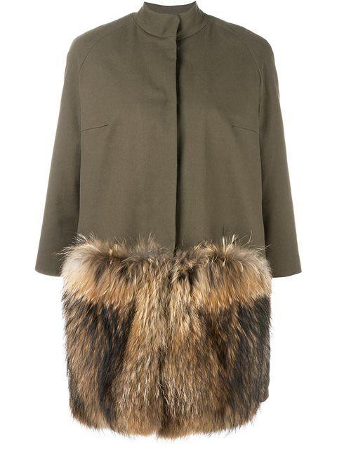 Купить Ava Adore пальто с рукавами три четверти.