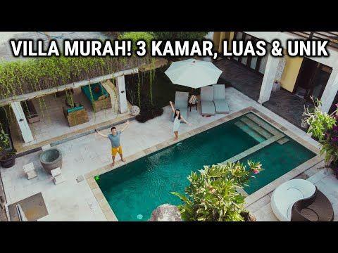 Nemu Villa Luas Yang Murah Cocok Buat Rame Rame Youtube In 2020 Villa Pool Kuta