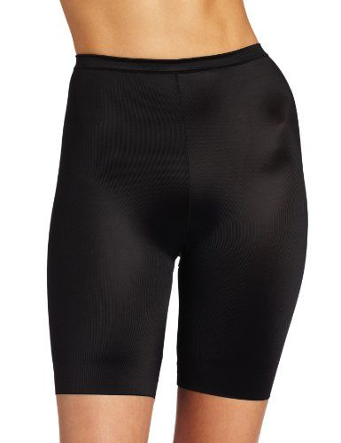 Flexees by Maidenform Womens Adjusts To Me Everyday Control Thigh Slimmer Black LargeXLargeXXLarge >>> Check this awesome product by going to the link at the image.