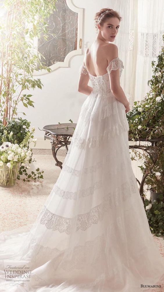 blumarine sposa 2019 bridal wedding dresses