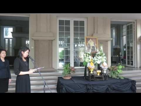 Berkeley's Morning service for King Bhumibol Adulyadej
