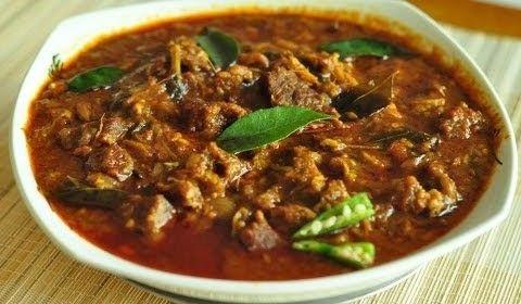 Nadan Beef Curry   Kerala Recipe   RecipesAreSimple