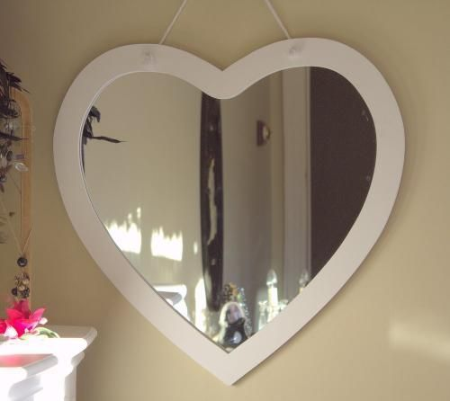 Wooden Hearts Mirror And Heart On Pinterest