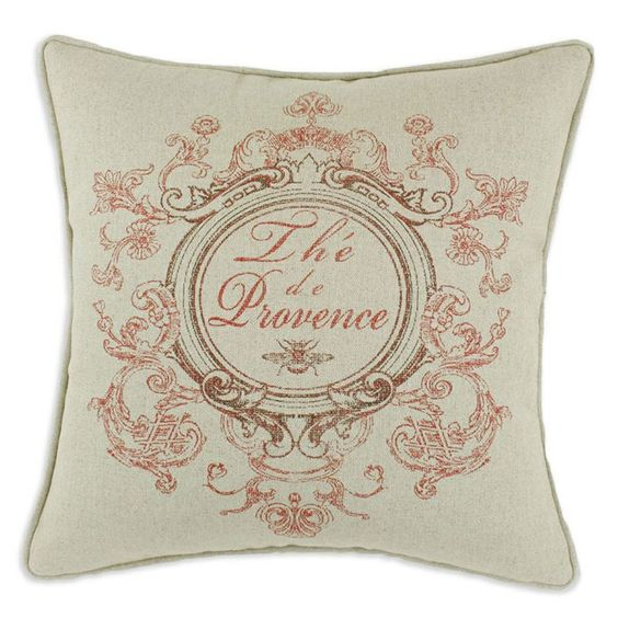 French Country-Chic Pillow.