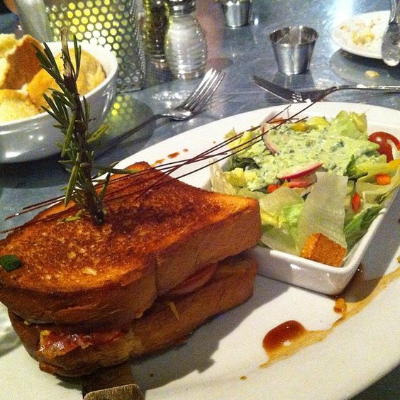 Grilled Cheese Sandwich @ Hash House A Go Go