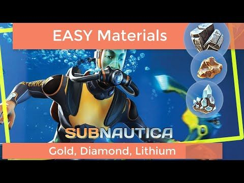 Subnautica Easy Gold Diamonds And Lithium Gold Diamond Gold Diamond It makes me sad to use ozzy's pod as a beacon, but there is so much useful stuff around there. subnautica easy gold diamonds and