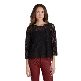 Elvia C Lace Top- buttons up the back!!!!!!