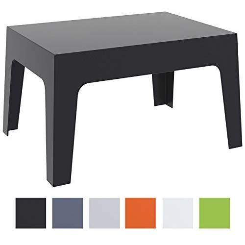 Clp Table Basse De Jardin Box En Plastique Table D Appoint Pour
