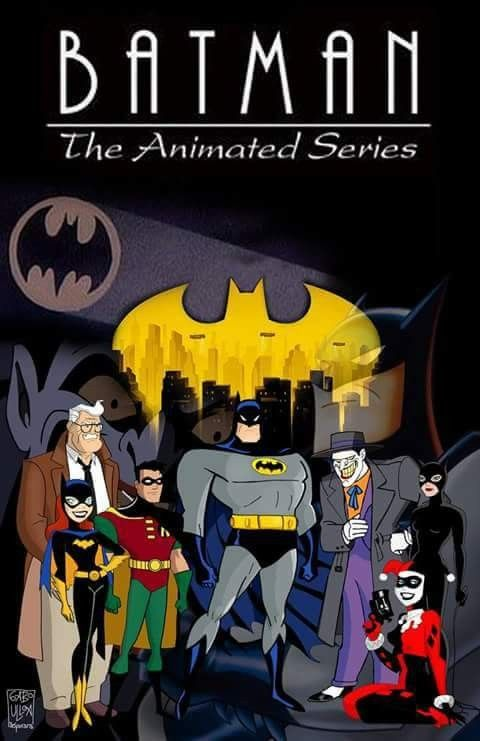Batman The Animated Series Poster Batman The Animated Series