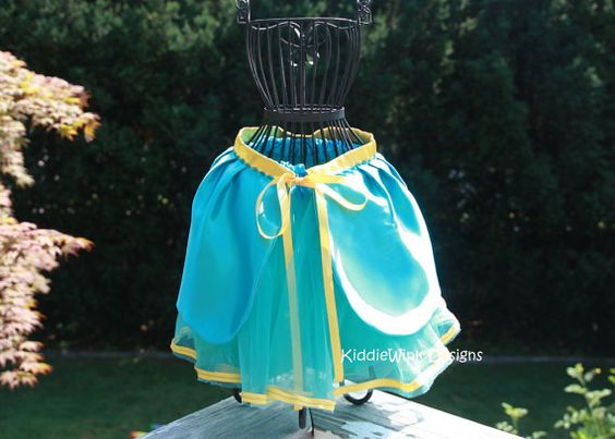 Merida or Brave inspired tutu costume by KiddieWinkDesigns on Etsy, $34.00
