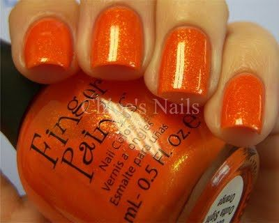 Yummy!    How about mixing a little Gold Glitter into our MEGA NEON ORANGE nail art powder to get the same result?    www.thenailartist.co.uk    Find us on Facebook:  www.facebook.com/enukinvertednailsystems