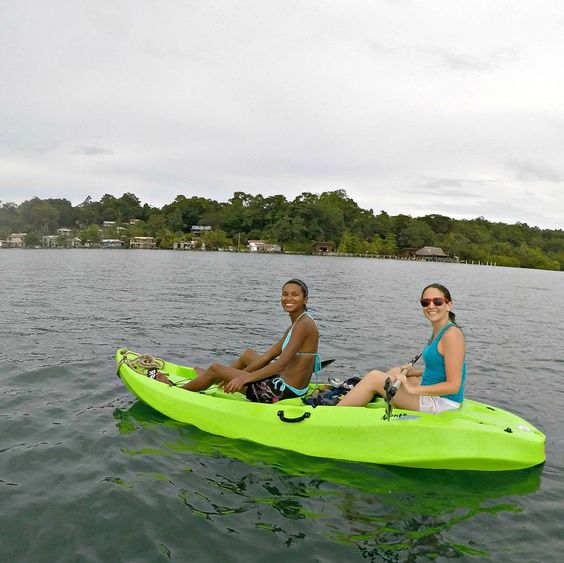 Looking for something to do in #Bastimentos #Panama? Rent a #kayak or stand up paddle board from #bubbashouse and paddle over to a nearby island for some #snorkeling #hiking and #exploring  #thebubbaslife by bubbashouse