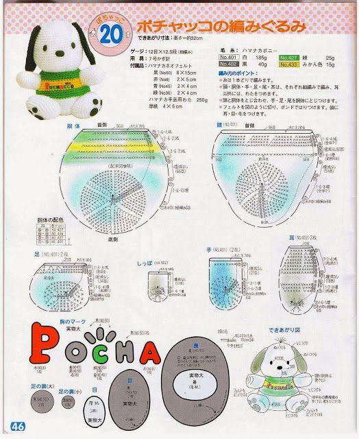 Hello Kitty em croche,com grafico. (com imagens) | Artesanatos da ... | 640x524