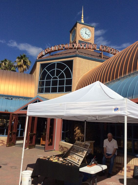 In the historic bus station in old Las Vegas located right next to the Mob Museum you will find on Fridays the Downtown 3rd Farmers Market Las Vegas, NV