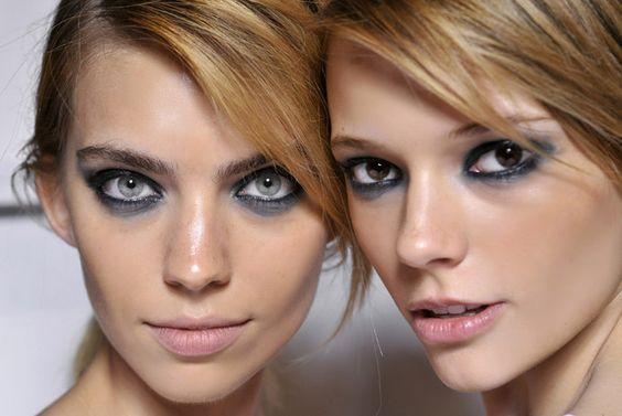 Juegos de color en los maquillajes de primavera-verano: la mirada de Emmanuel Ungaro