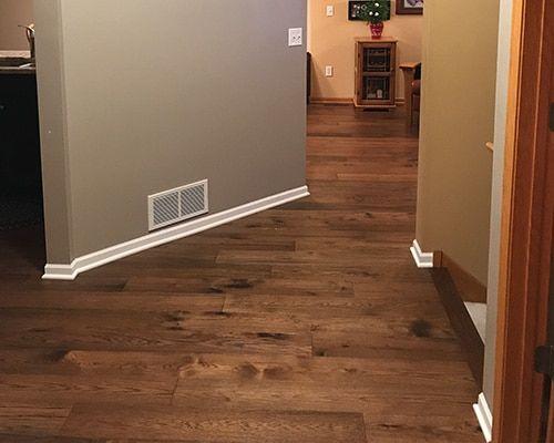 Novella Thoreau Hallway Floor Installation Shakopee Mn Hallmark Floors Hallmark Floors Floor Installation Hallway Flooring