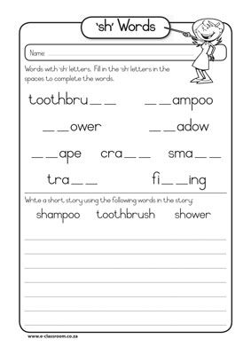 Printables Third Grade Phonics Worksheets phonics worksheets grade 3 versaldobip 39 sh words school pinterest chang e 3