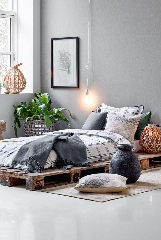 Også i soveværelset flytter botanik  og natur trenden nu ind ...