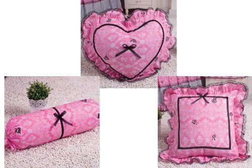 Cliab Home Textile Bedding Accessories for Pink Paris Bedding Decorative Pillows,candy Pillow Cute Square Pillow 3pcs Cliab,http://www.amazon.com/dp/B00ESDD7RS/ref=cm_sw_r_pi_dp_i.IMsb01TGJWSVDB