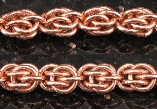 Sweet Pea Chainmaille How-To