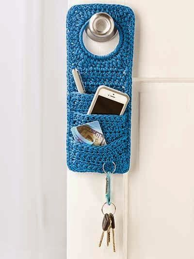 Ganchillo patrones and diy y manualidades on pinterest for Accesorios originales para el hogar