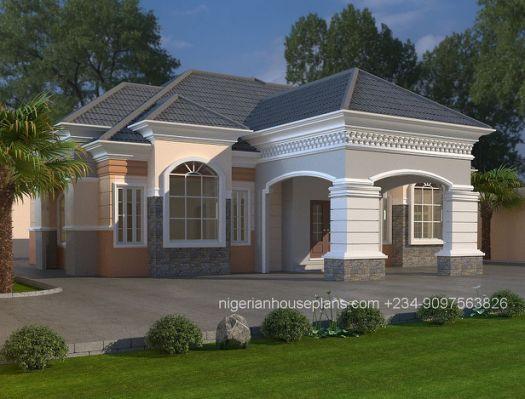 Modern House Design Nigeria Bungalow Style House Bungalow Design Bungalow House Design