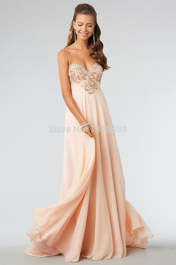 A Line Long Prom Dresses Floor Length Party Dress Special Occasion Gowns