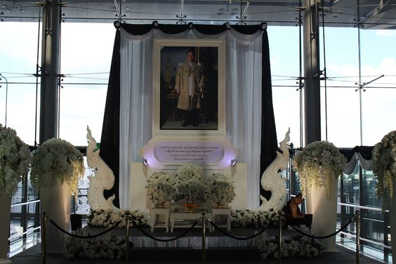 Bangkok Thailand King Death