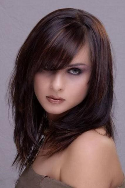 Bangs Hairstyles Pictures And Love Love Love On Pinterest