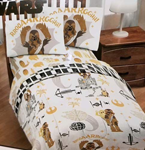 Franco Star Wars Chewbacca Twin Comforter And Sheet Set Best