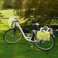 Set de sacoches pour le vélo - patron gratuit