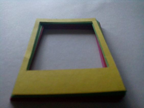 DIY marcos foto polaroid