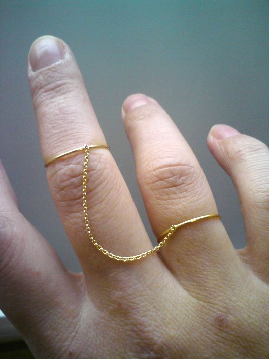 SUSANNE SCHMITT, DOUBLE RING: very simple.