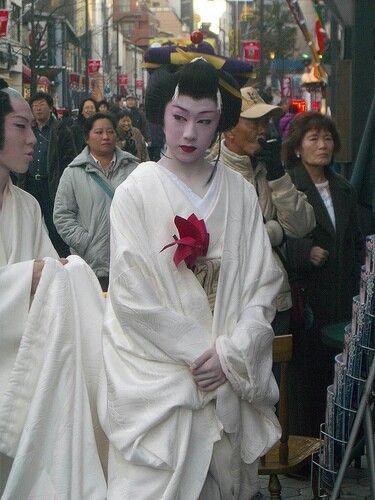 純白のお着物の早乙女太一