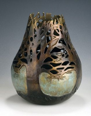 Carol Alleman - Seen and Unseen  Cast Bronze Edition of 35  ONLY ONE REMAINS IN THE EDITION  Available at Mark Sublette Medicine Man Gallery