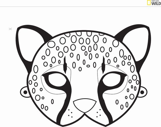 Free Coloring Animal Masks Best Of Image Result for Lion Mask Templates