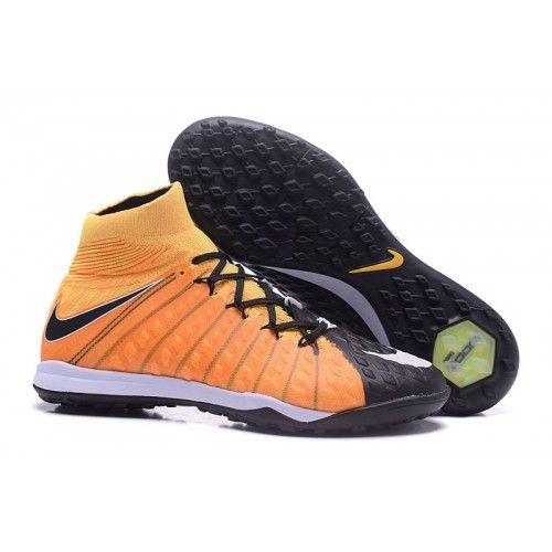Botas De Futbol Nike Hypervenom Phantom III DF TF Naranjas