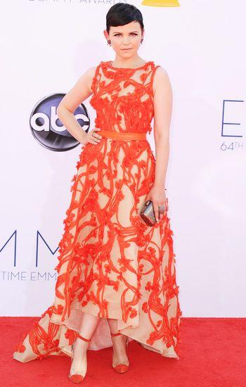 #Emmys fave: Ginnifer Goodwin, j'adore l'orange.