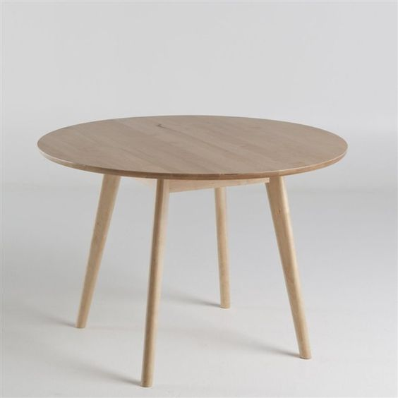 Table ronde 6 personnes jimi la redoute interieurs for for Table ronde design 6 personnes