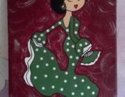 Cuadro flamenca - artesanum com