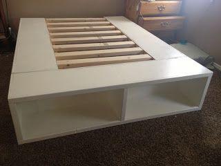 diy storage bed frame crafty pinterest diy storage bed diy storage and storage beds - Diy Storage Bed Frame