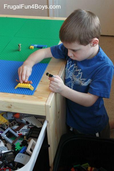 IKEA Hack Lego Table