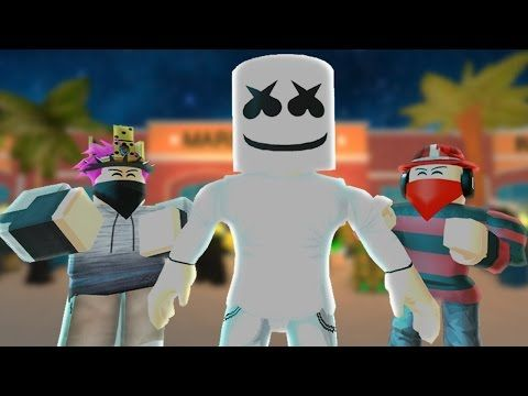 Marshmello Alone Official Music Video Youtube Roblox