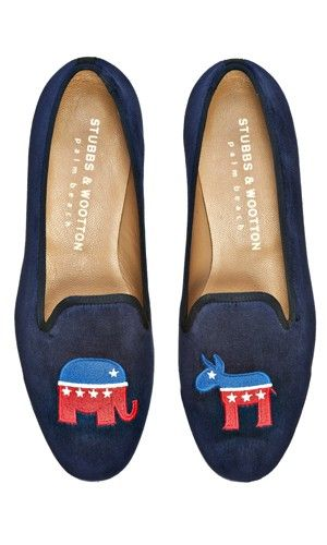 stubbs & wootton election slipper